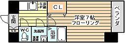 ファーストステージ北大阪レジデンス[701号室]の間取り