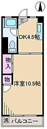 東京都北区神谷2丁目の賃貸マンションの間取り