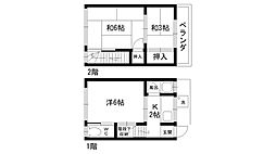 [一戸建] 兵庫県西宮市甲子園四番町 の賃貸【/】の間取り