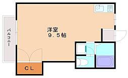 サンプレイス三宅[1階]の間取り