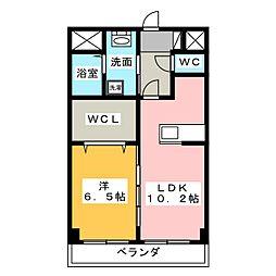 CREA元今泉[3階]の外観