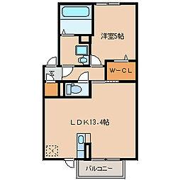 パドレ115[2階]の間取り