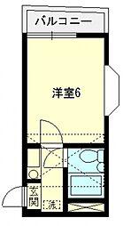 アートパレス上福岡[205号室号室]の間取り