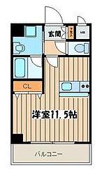 アルトベルク横浜[3階]の間取り