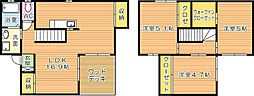 ガーデンプレイスC[2階]の間取り