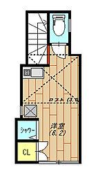 Ohmori Apartment(大森アパートメント) 204号室[204号室号室]の間取り