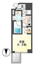 レジデンス千代田[5階]の間取り