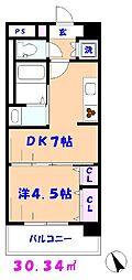 (仮称)市川リーフクリスタルマンション[1F-E号室]の間取り