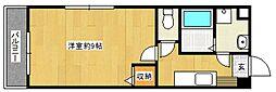 ウィークリックハウス[3階]の間取り