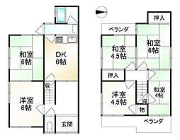 東野駅 1,280万円