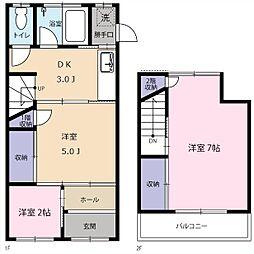[一戸建] 東京都港区元麻布2丁目 の賃貸【/】の間取り