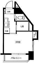 東京都文京区本郷2丁目の賃貸マンションの間取り