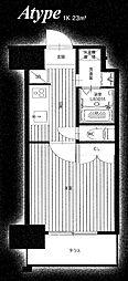 CLUB ORIENT No.122 ETERNITY NI 14階1Kの間取り