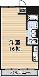 コープみささぎ[602号室号室]の間取り