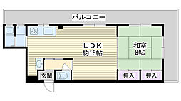 あさひマンション[103号室]の間取り