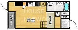 是空HORIKAWA[701号室号室]の間取り