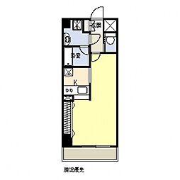 グランドール横浜[501号室号室]の間取り