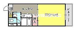 平井マンション奥田[3階]の間取り