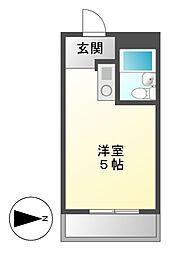 アーバンポイント富士見[7階]の間取り