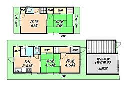 [一戸建] 兵庫県神戸市垂水区霞ケ丘3丁目 の賃貸【/】の間取り