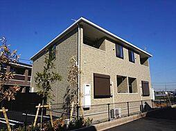 千葉県八千代市大和田新田の賃貸アパートの外観