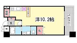アーバネックス神戸駅前[9階]の間取り
