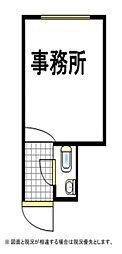 あやめマンション[1階]の間取り