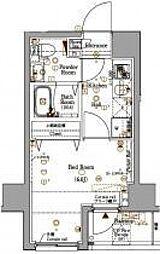 Log Sakuragicho[2階]の間取り