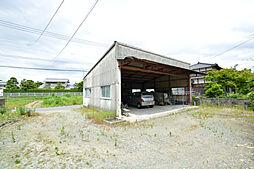 敷地北側(倉庫...