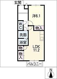 サープラス和[2階]の間取り