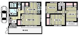 [一戸建] 東京都杉並区上荻3丁目 の賃貸【/】の間取り