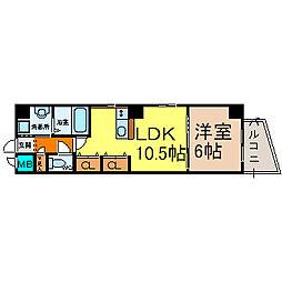 愛知県名古屋市中村区大秋町4丁目の賃貸マンションの間取り