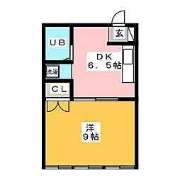 名南ビル[3階]の間取り