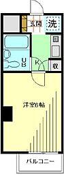 三田富洋ハイツ[613号室]の間取り
