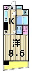 HORIKIRI RISE[902号室]の間取り