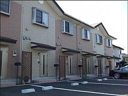 東京都日野市西平山4丁目の賃貸アパートの外観