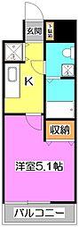 KWレジデンス高野台[8階]の間取り