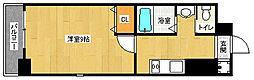 京都府京都市中京区円福寺町の賃貸マンションの間取り