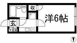 槻木ハイツ[1階]の間取り