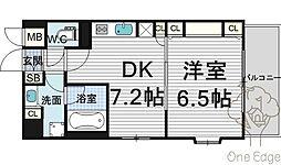 KAISEI梅田[7階]の間取り