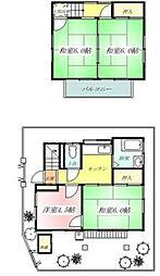 [一戸建] 埼玉県さいたま市南区四谷1丁目 の賃貸【/】の間取り