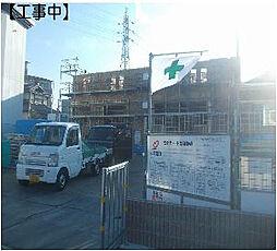 大阪府貝塚市新井の賃貸アパートの外観