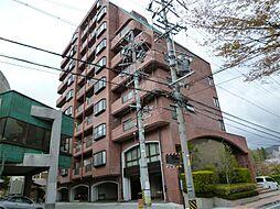 長野県諏訪市湖岸通り4丁目の賃貸マンションの外観