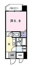 新横浜FSビル[4階]の間取り