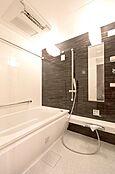 オートバス、ミストサウナ、浴室乾燥機付バスルーム