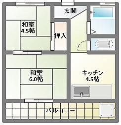 あずま苑[2階]の間取り