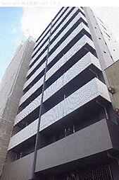 東京都北区王子の賃貸マンションの外観