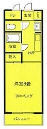 ハイムSUZUKI[3階]の間取り