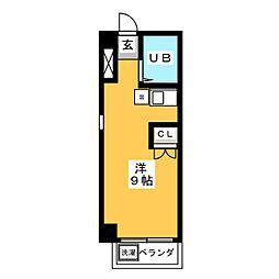 コートハウスNADA[3階]の間取り