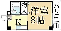 バークレイカワムラ[2階]の間取り